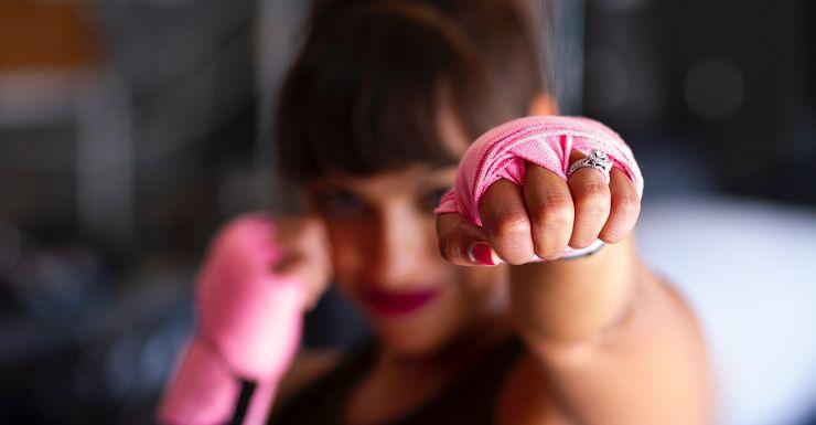 女孩拳擊工作坊